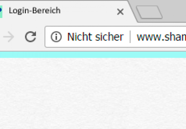 SSL Warnung in Chrome
